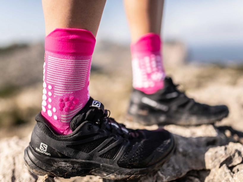 Pro Racing Socks v3.0 Trail rose mélange