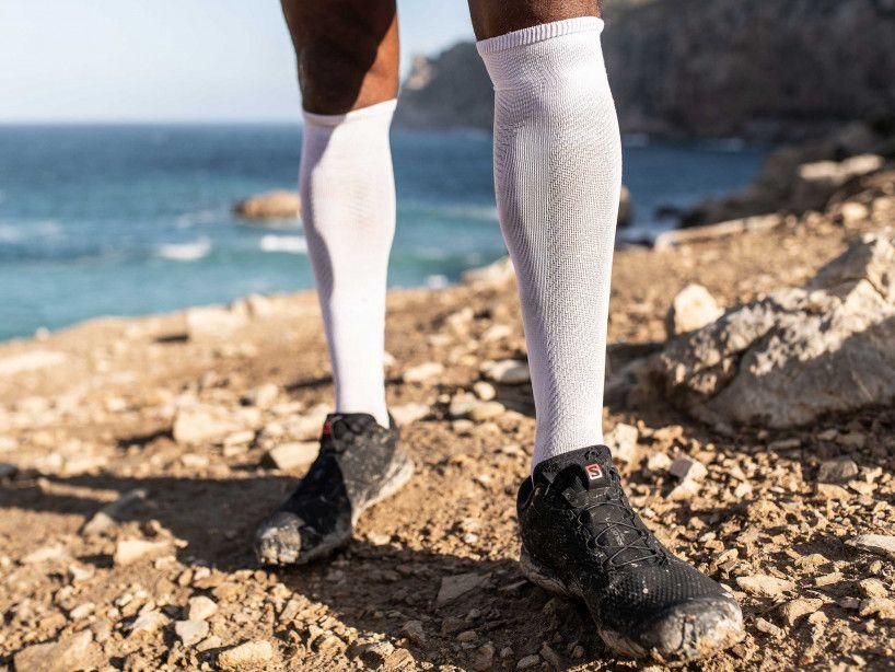 Full Socks Race Oxygen white