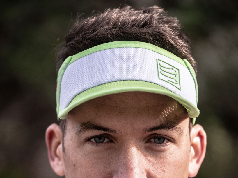 Spiderweb Ultralight Visor weiß/grün