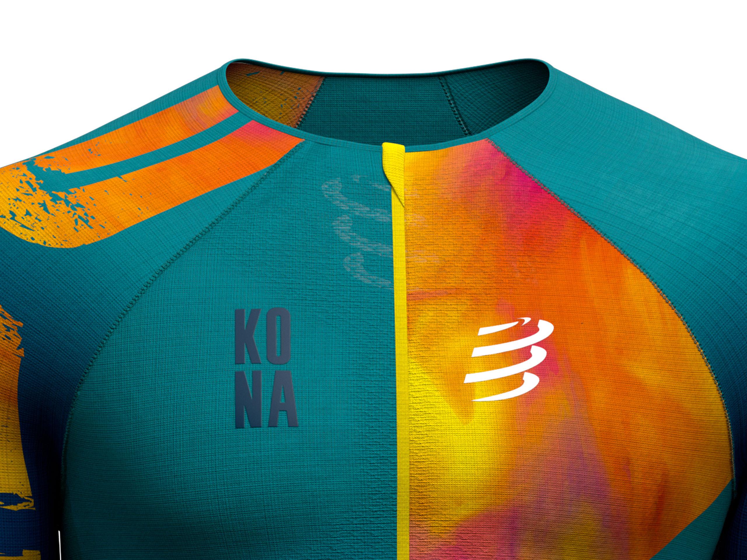 Maglia posturale da triathlon Aero SS - Kona 2019