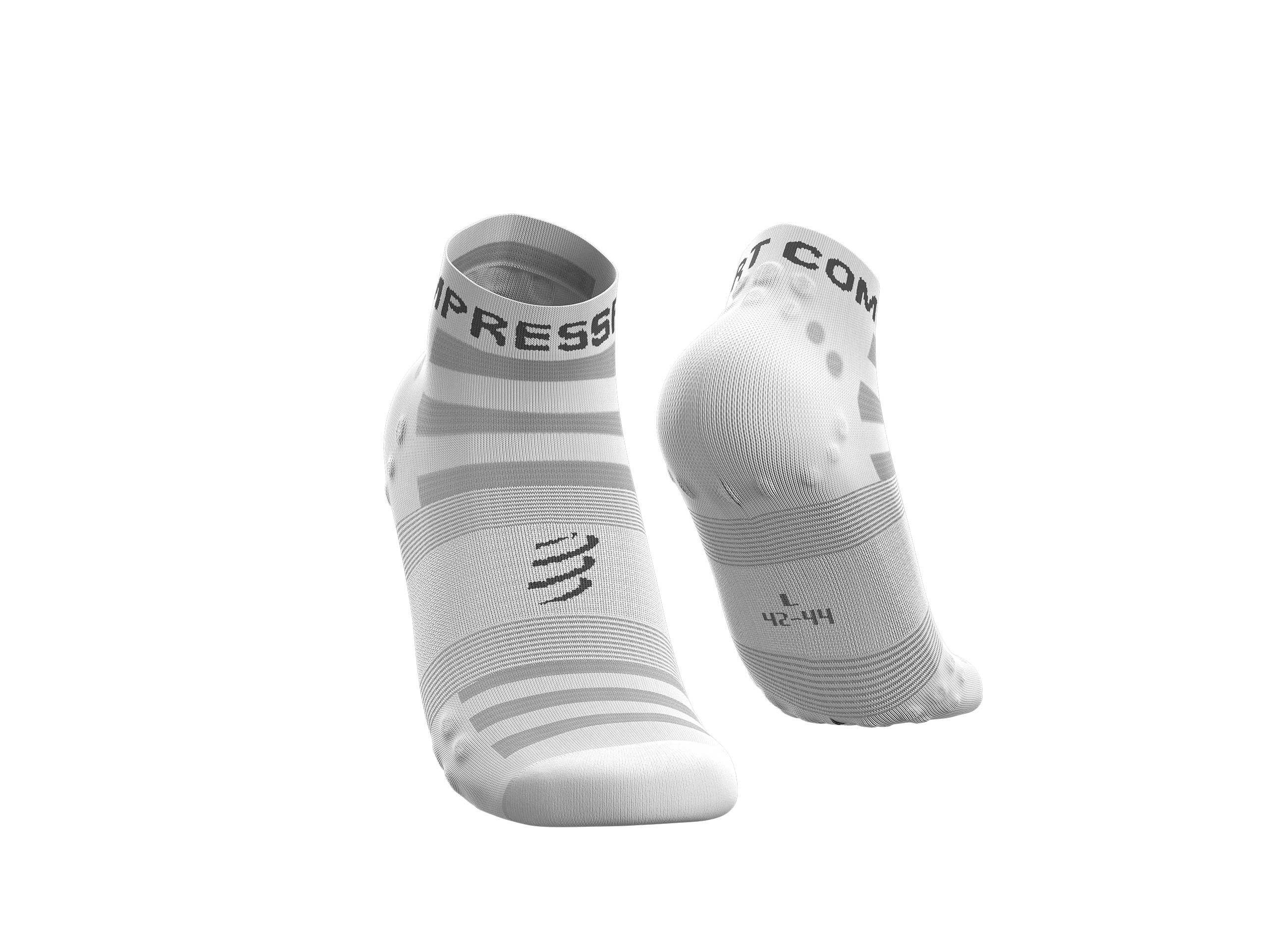 Calcetines Pro Racing v3.0 Ultralight Run Low blancos