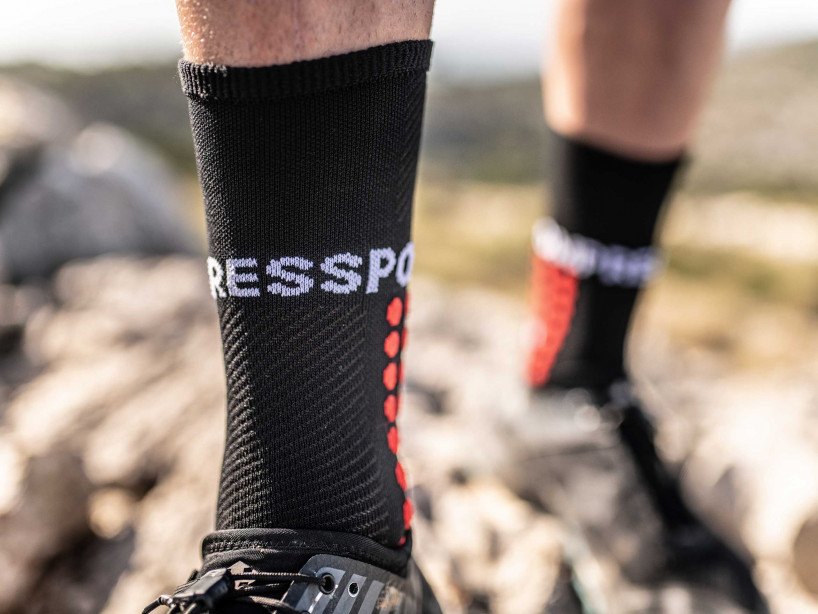 Calcetines de ultra trail negros
