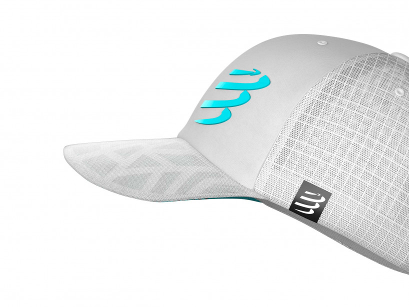 Racing Trucker Cap white