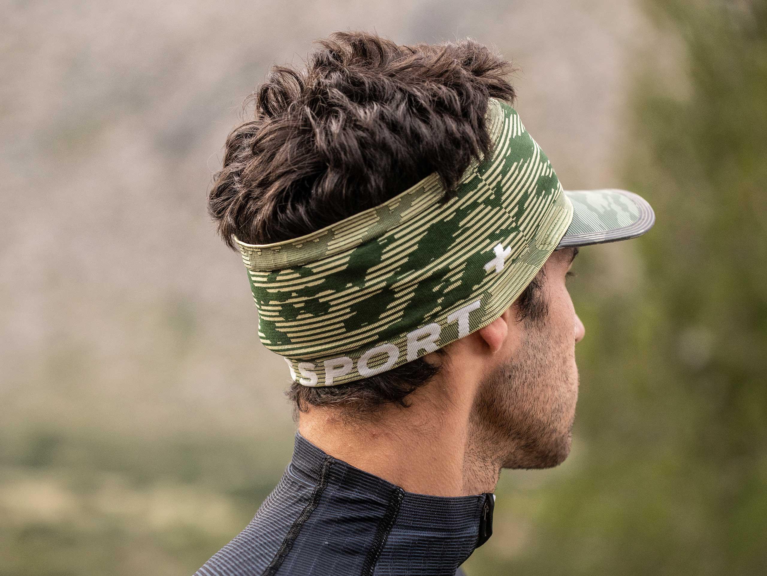Spiderweb Headband On/Off camo