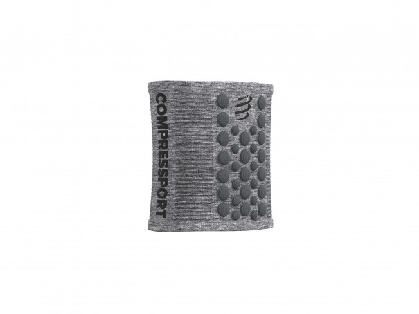 Sweatbands 3D.Dots grau-meliert