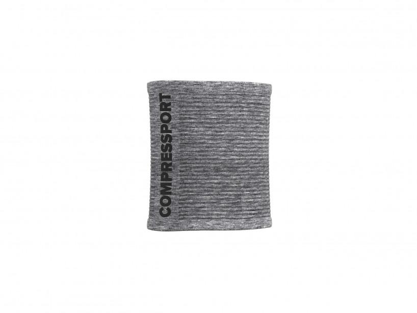 Sweatbands 3D.Dots grau-meliert