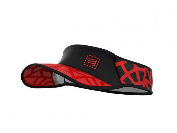 Visera Spiderweb Ultralight rojo/negro