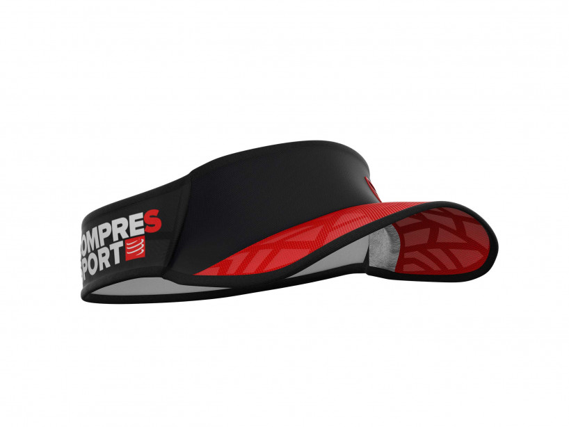 Visera Spiderweb Ultralight rojo/negro