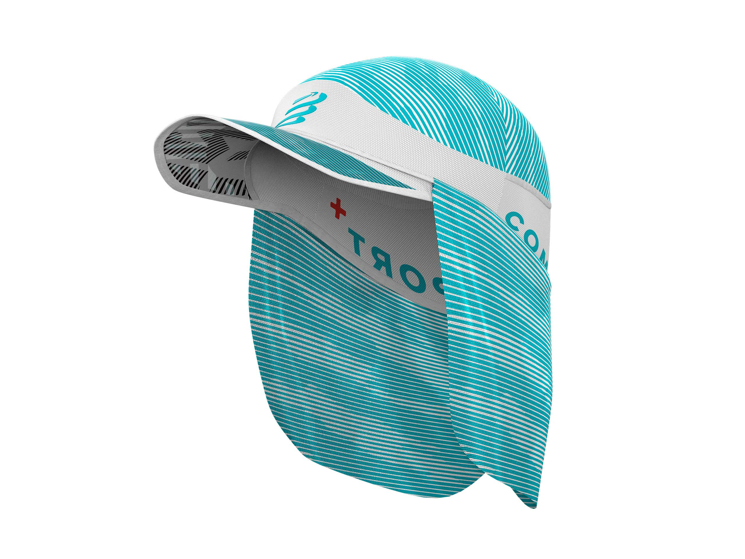 Ice Cap Sun Shade WHITE/BLUE