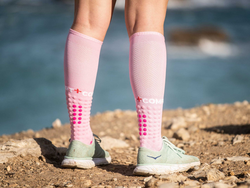 Full Socks Run rose