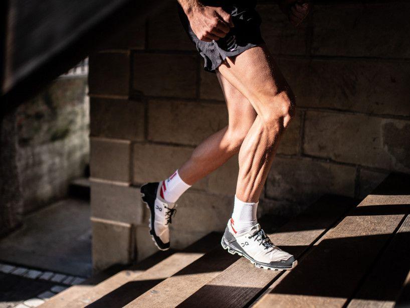 Calze professionali da maratona bianche