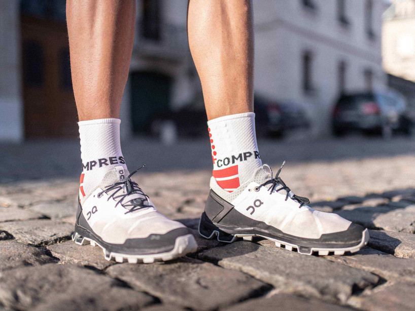 Shock Absorb Socks blanc