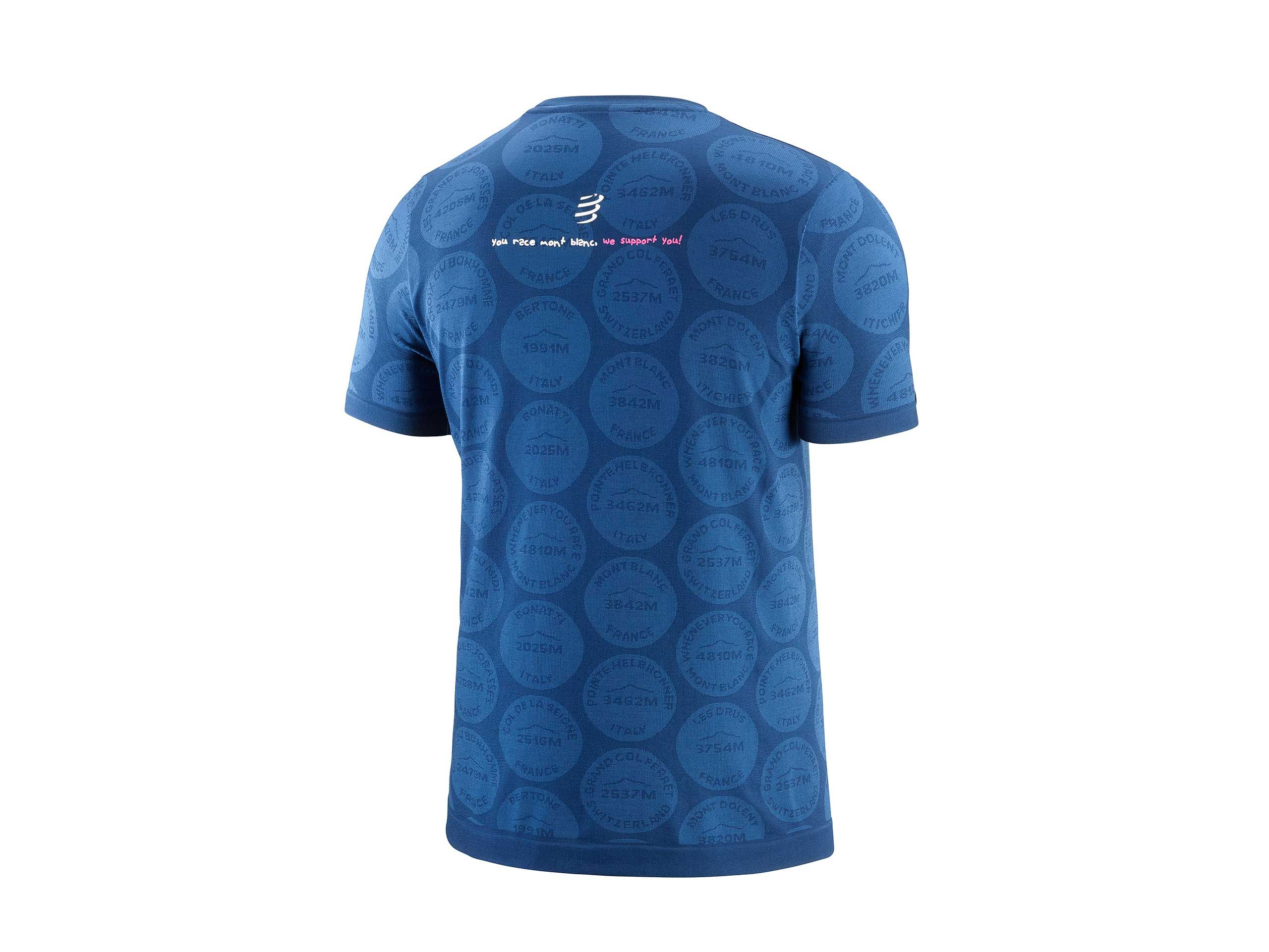 Training Tshirt SS Badges - Mont Blanc 2020