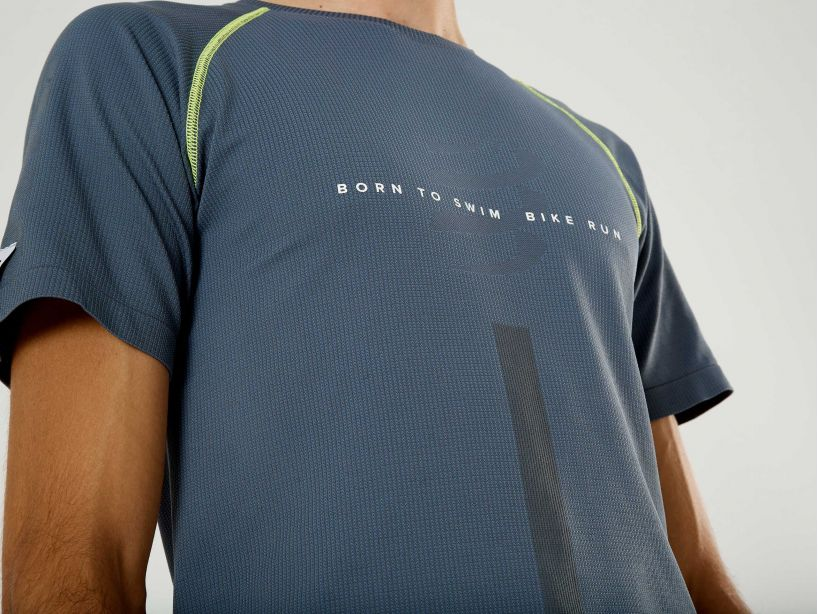 Training Tshirt SS - Born To SwimBikeRun 2020