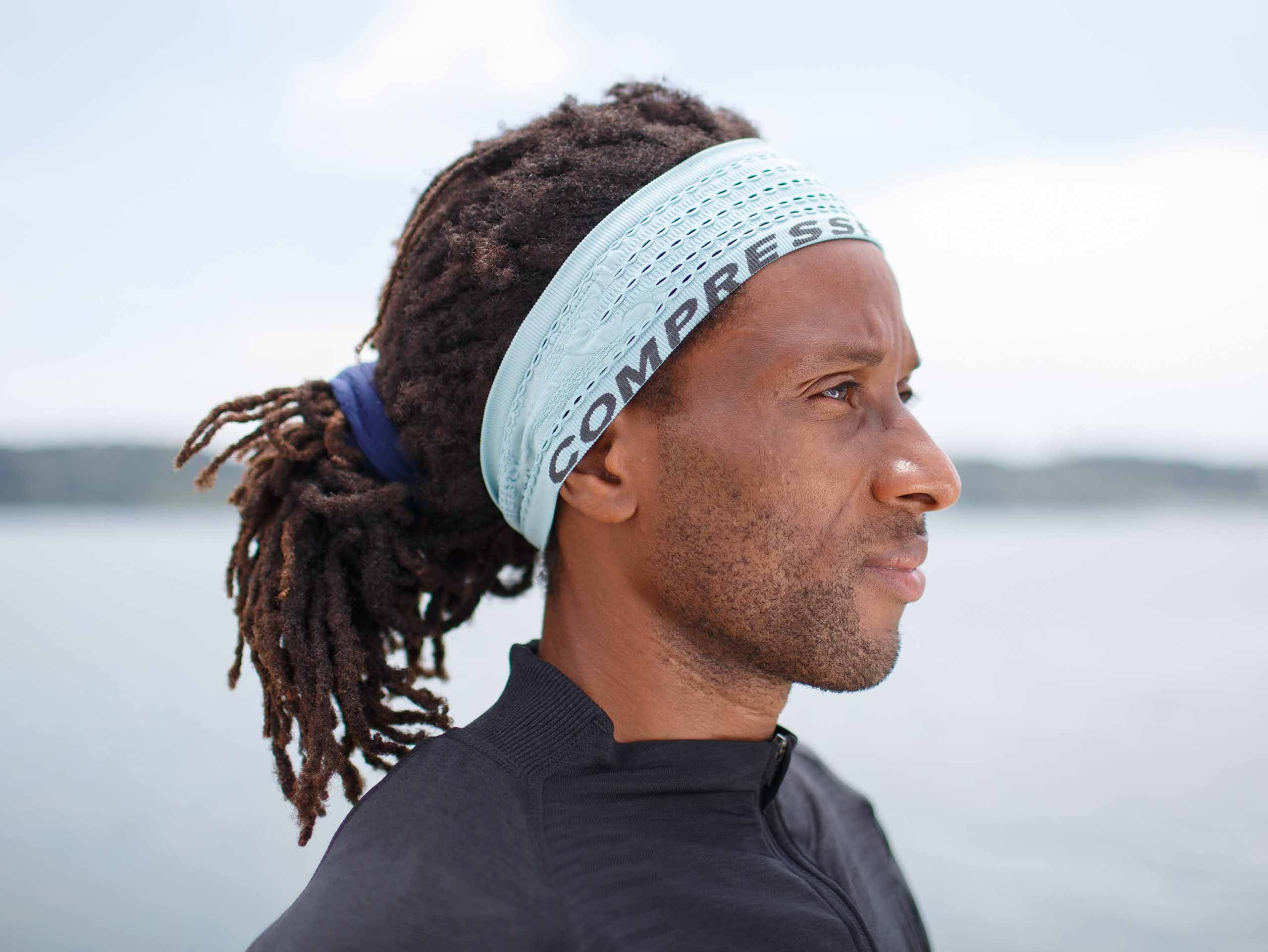 Thin Headband On/Off NILE BLUE