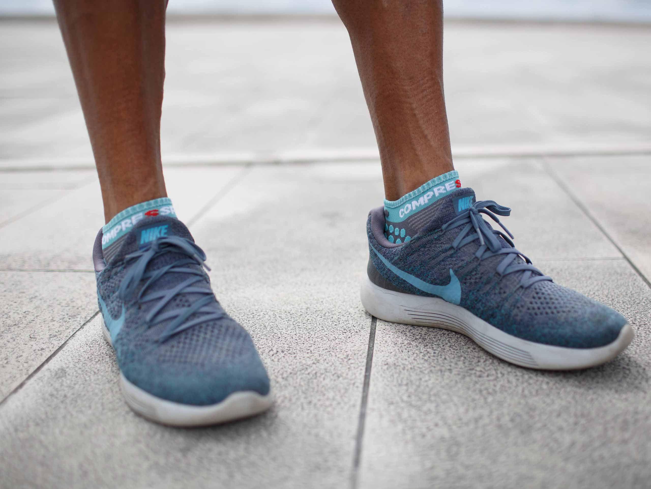 Pro Racing Socks v3.0 Run Low NILE BLUE