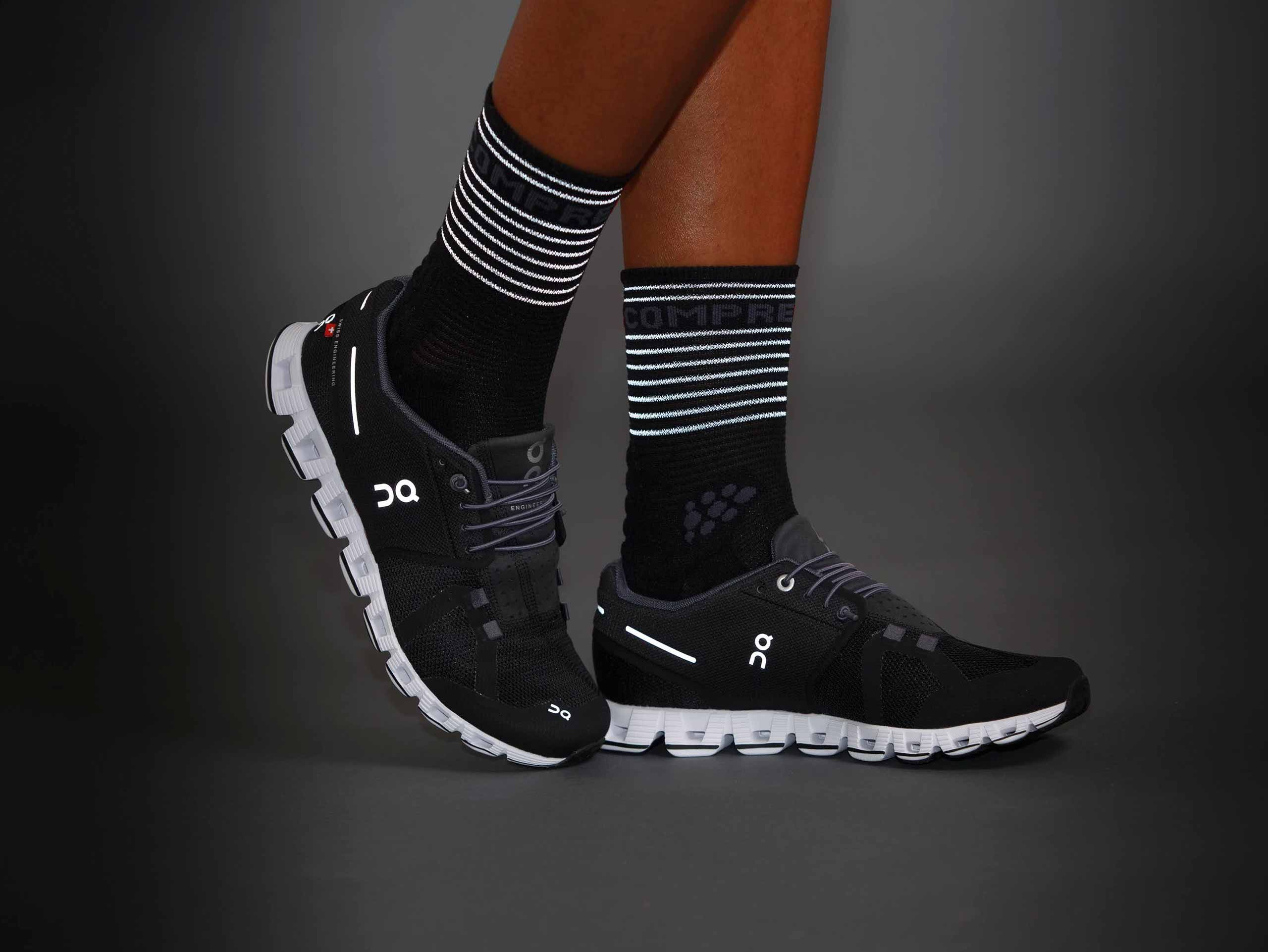 Pro Racing Socks Flash BLACK