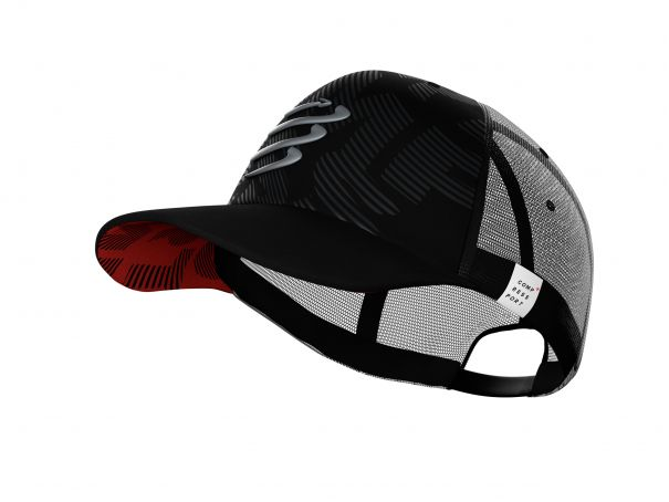 Trucker cap flash noir