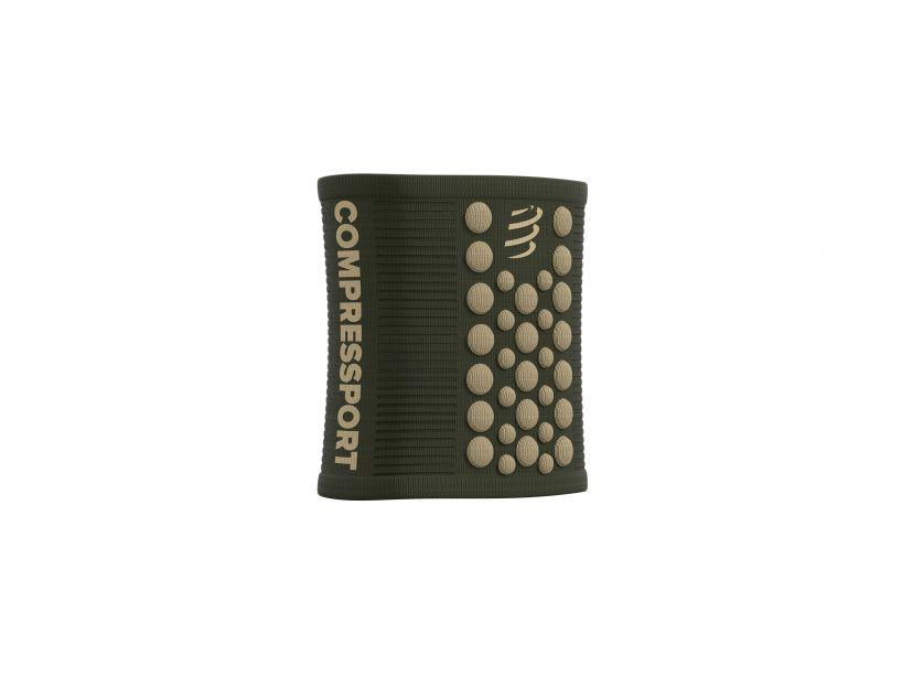 Sweatbands 3d dots vert de gris