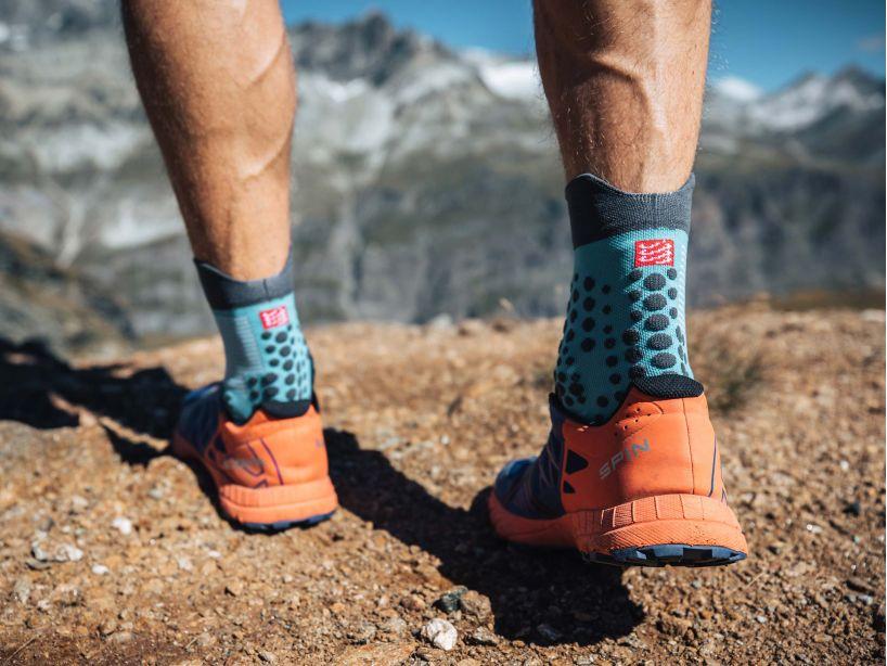 Pro racing socks v3.0 trail bleu du nil