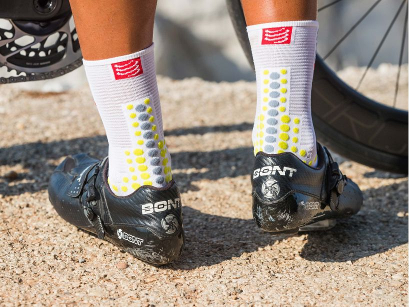 Pro Racing Socks v3.0 Bike WHITE/LIME