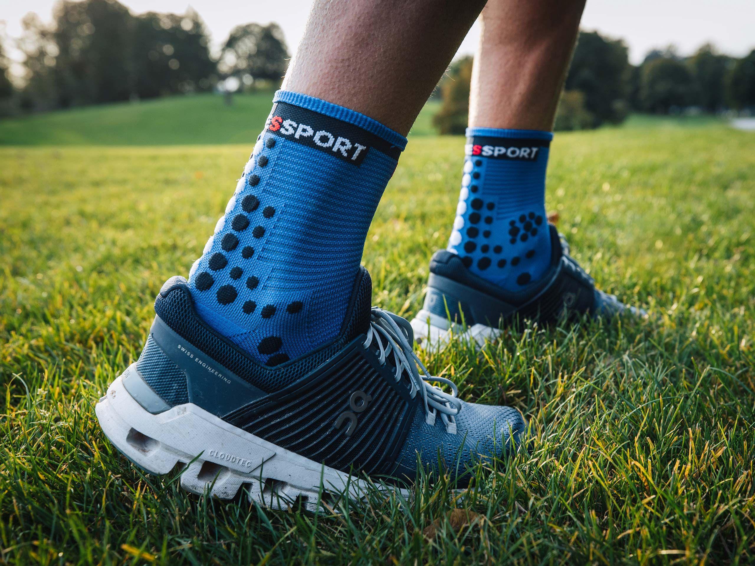 Pro Racing Socks v3.0 Run High BLUE LOLITE