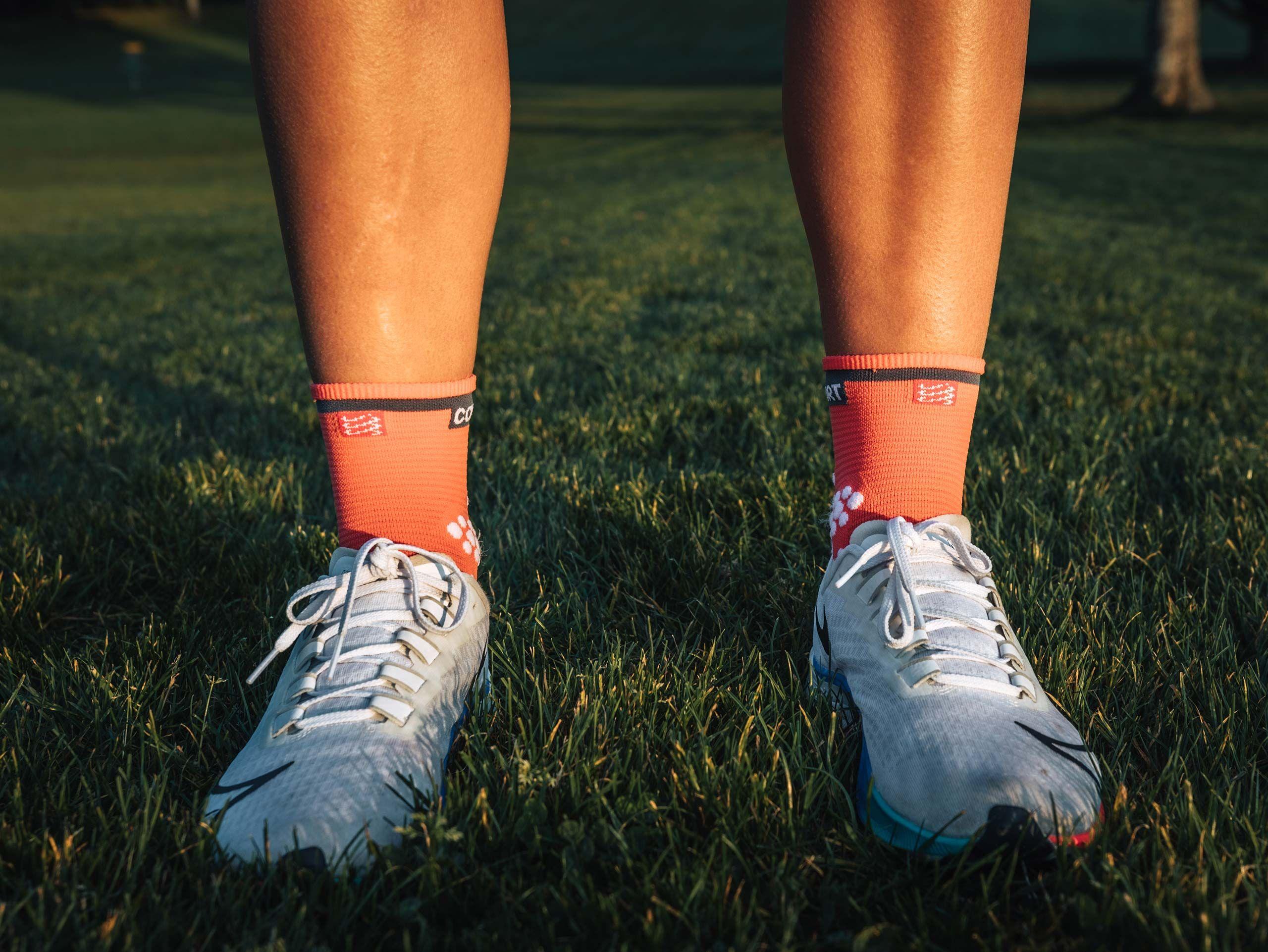 Pro racing socks v3.0 Run high coral