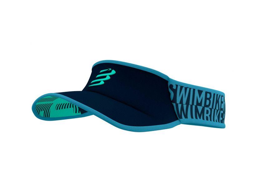 Visor Ultralight - Born To SwimBikeRun 2021 BLUE HEAVEN