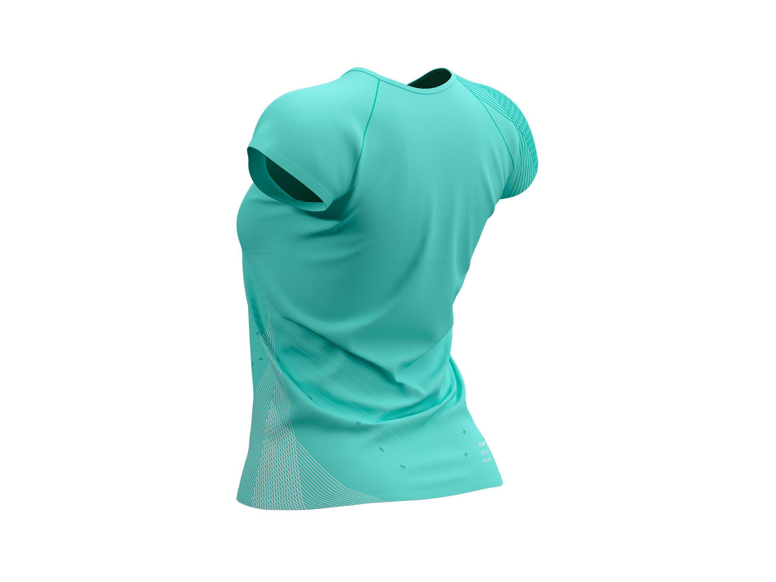 Performance SS Tshirt W - Summer Refresh 2021 BIRD'S EGG GREEN