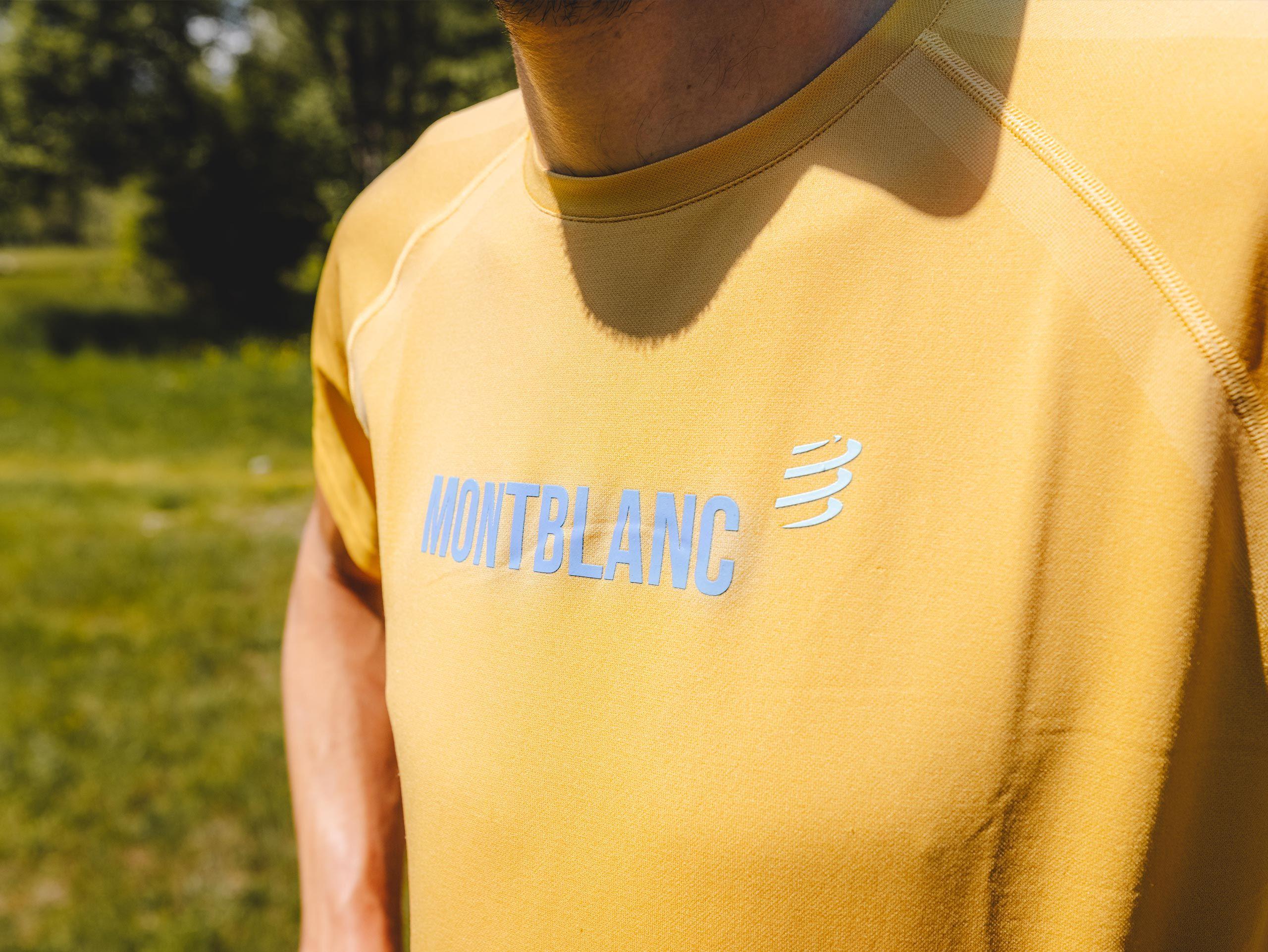 Training Tshirt SS - Mont Blanc 2021