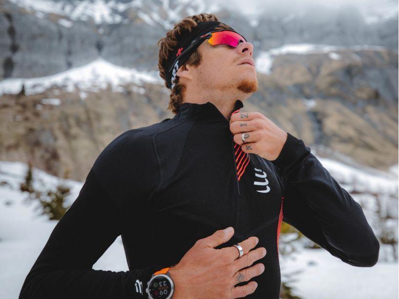 Winter Trail Postural LS Top M BLACK