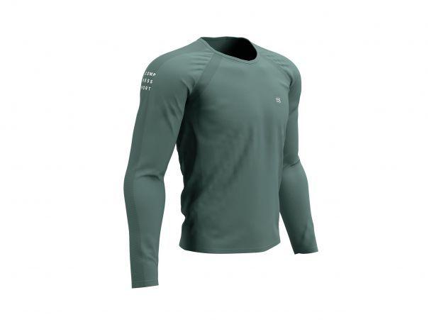 Training Tshirt LS - Silver Pine