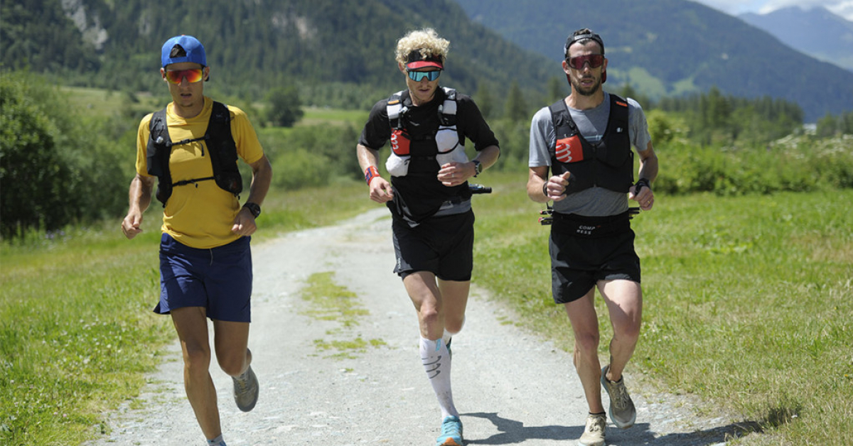 Gregoire Curmer breaks the record for the Chamonix-Briançon crossing