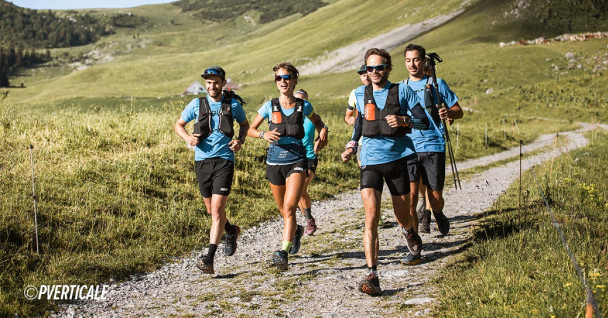 Audrey Tanguy sets the women's benchmark for the 14 Summits of the Massif des Bauges