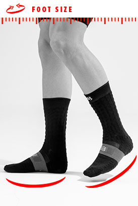Mid Compression Socks Run 5