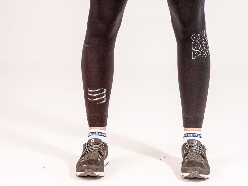 Leggings da corsa Under Control neri