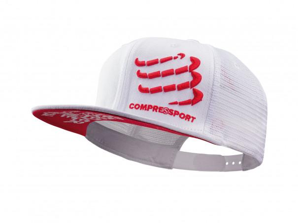 Cappellino camionista bianco