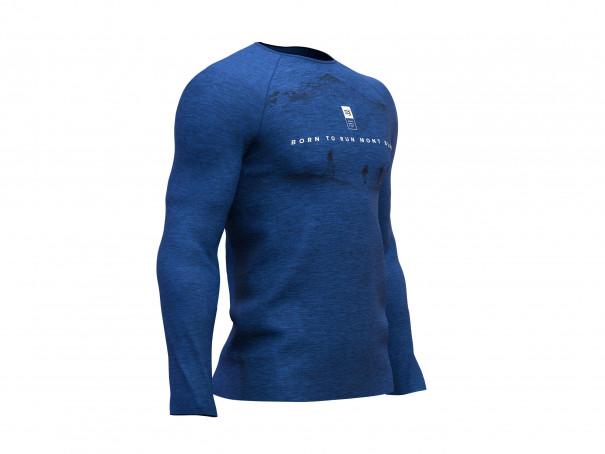 T-shirt LS da allenamento - Mont Blanc 2019