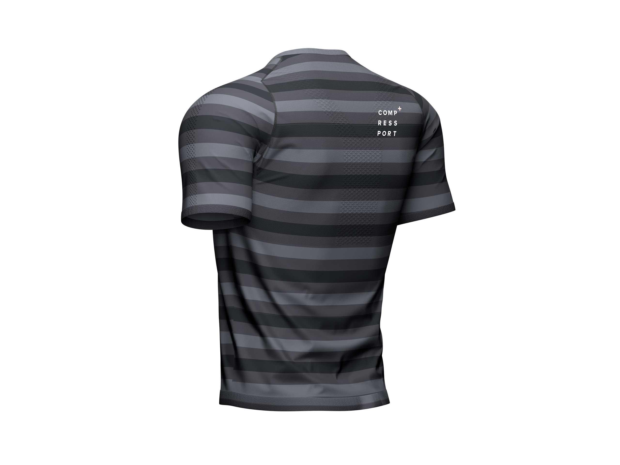 T-shirt SS da performance nera