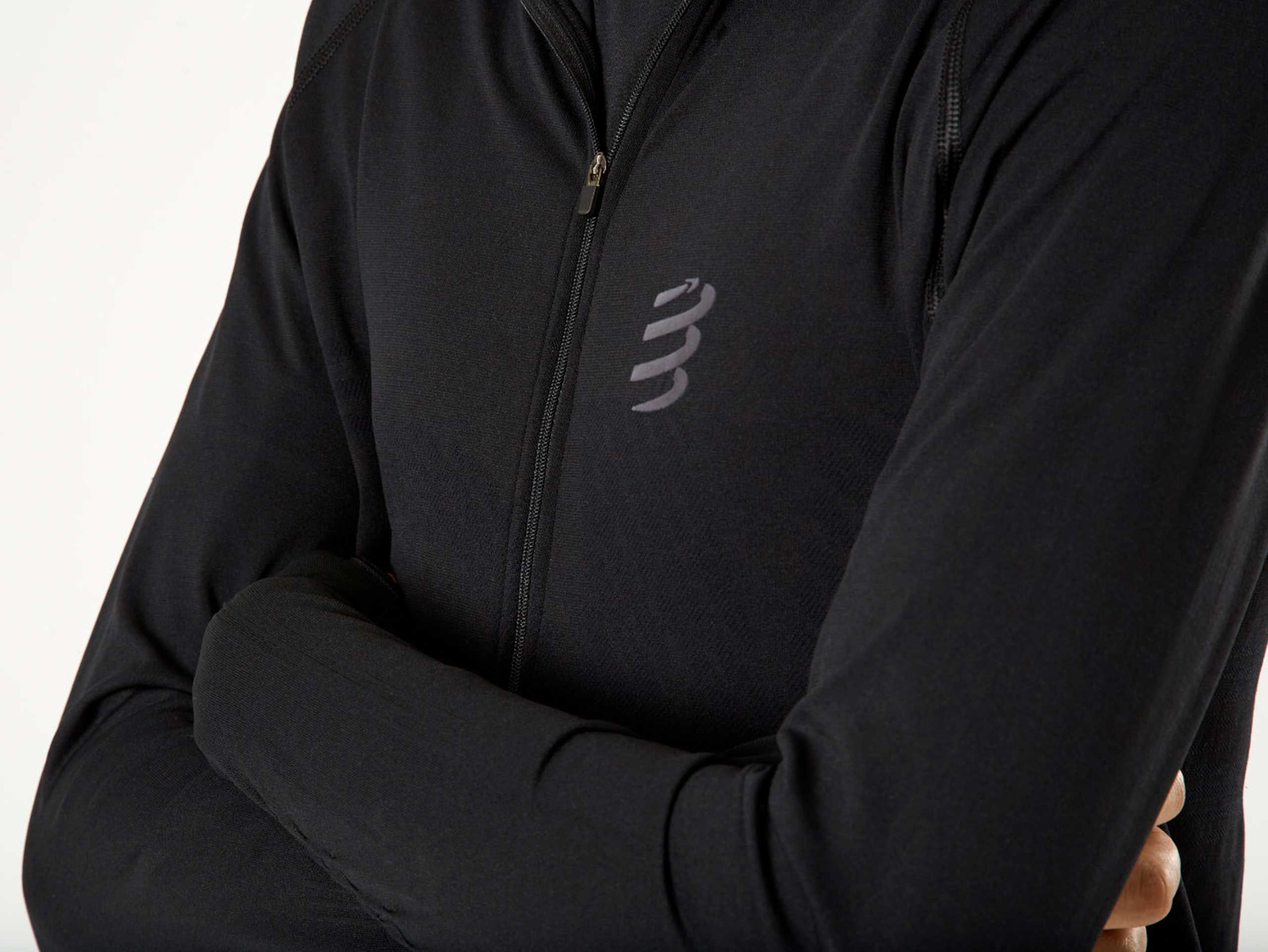 3D Thermo Seamless Hoodie Zip - Black Edition 2020