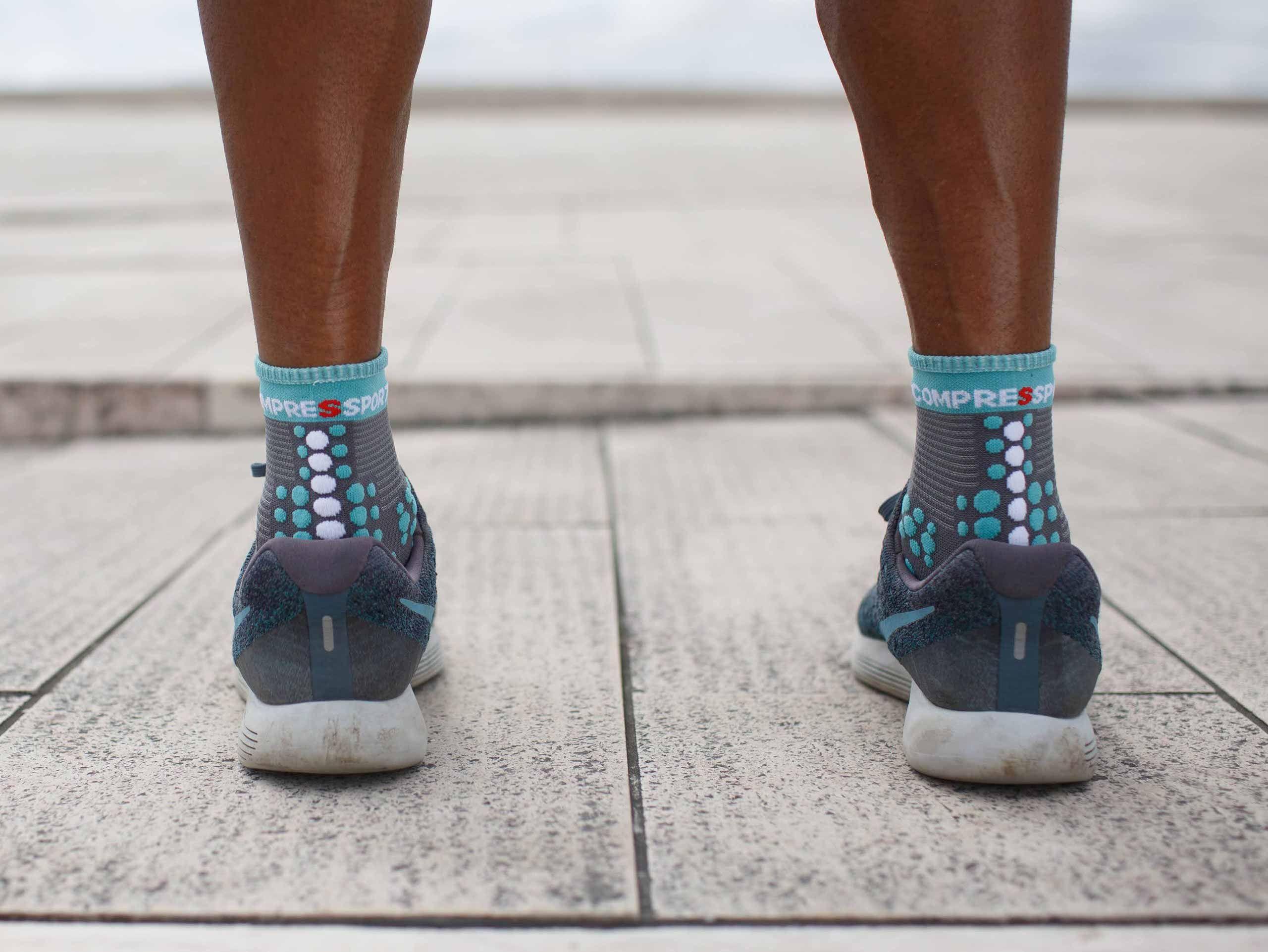 Pro Racing Socks v3.0 Run High NILE BLUE