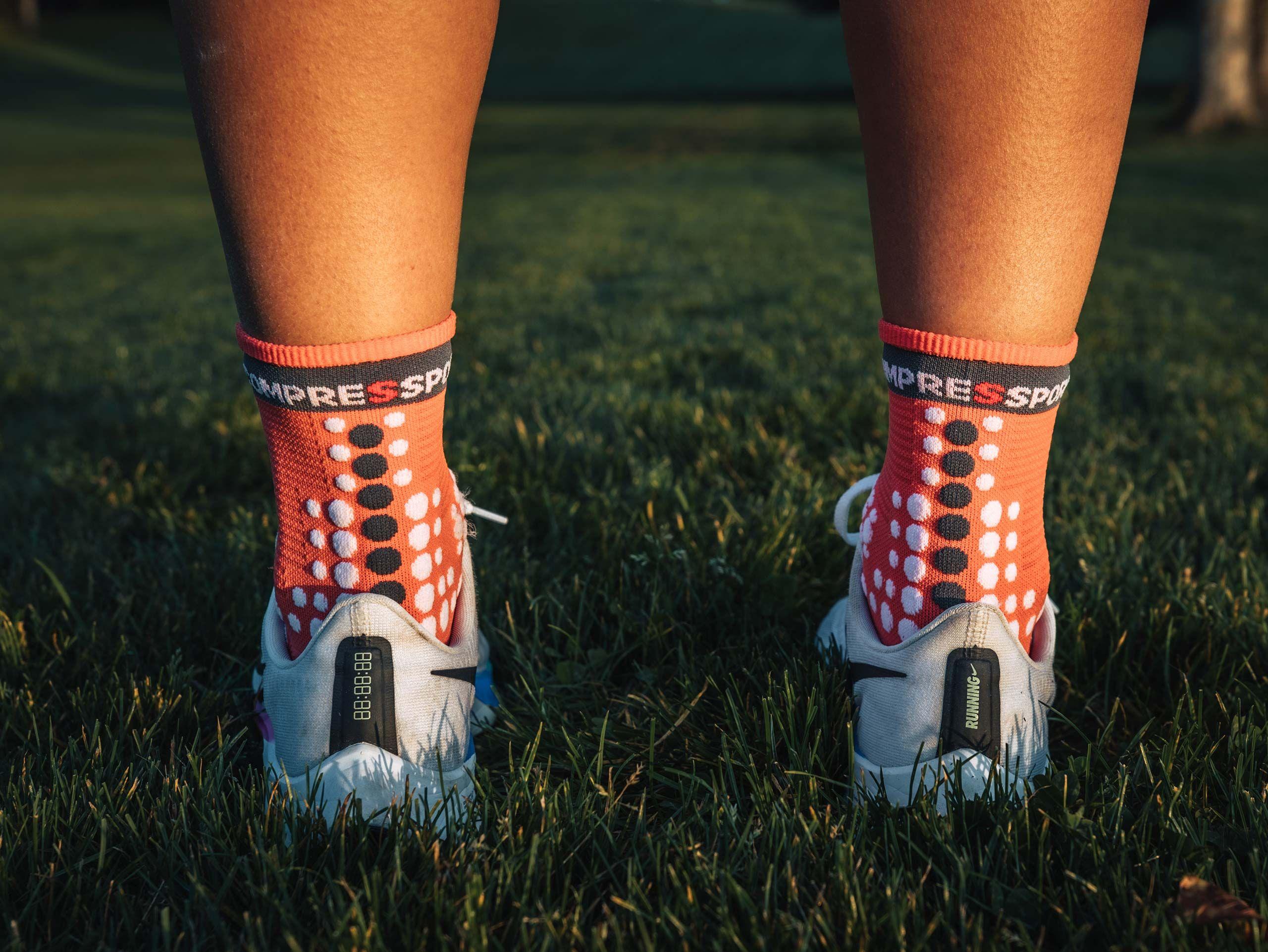 Pro Racing Socks v3.0 Run High - Coral