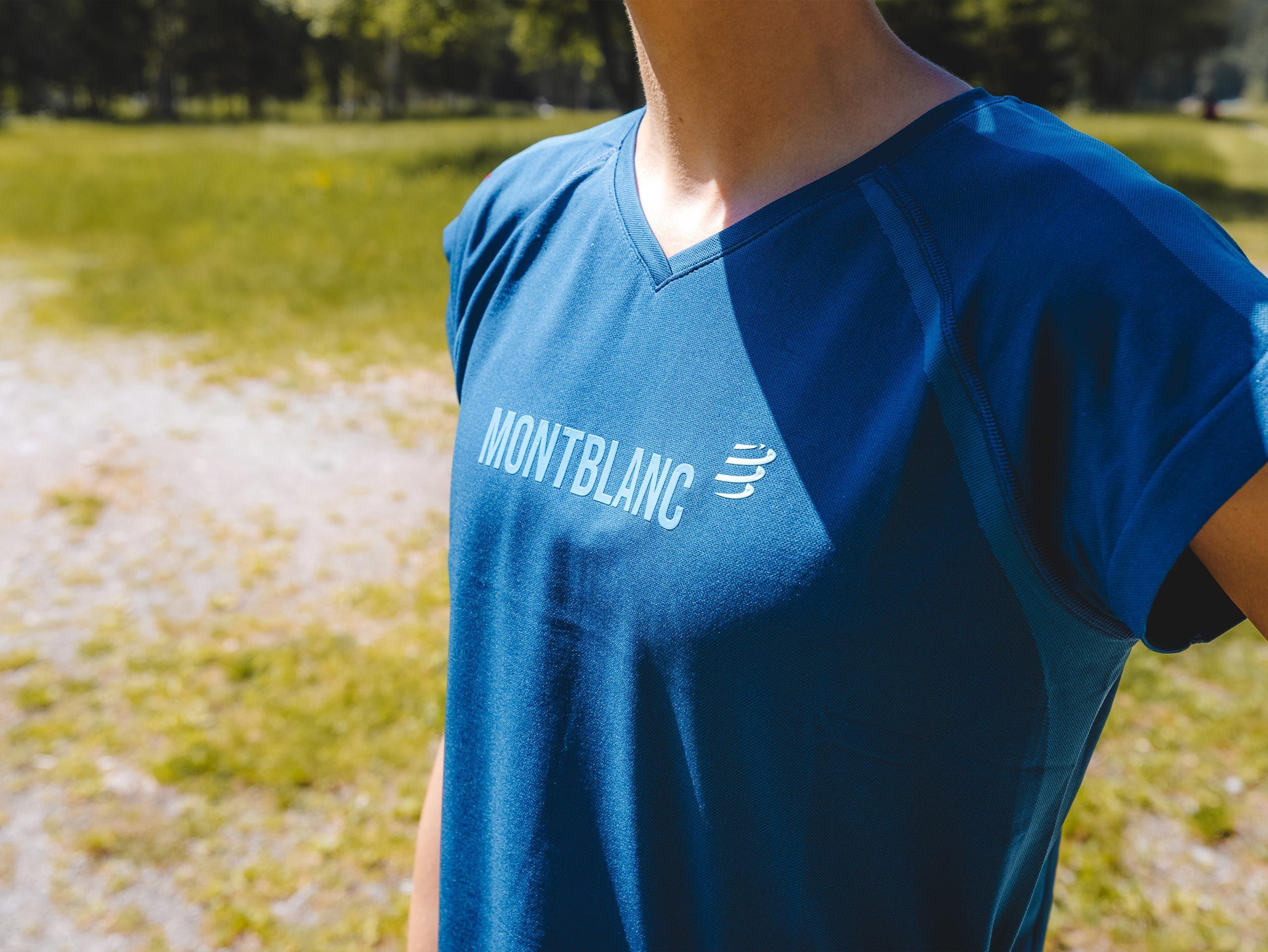 Training Tshirt SS W - Mont Blanc 2021