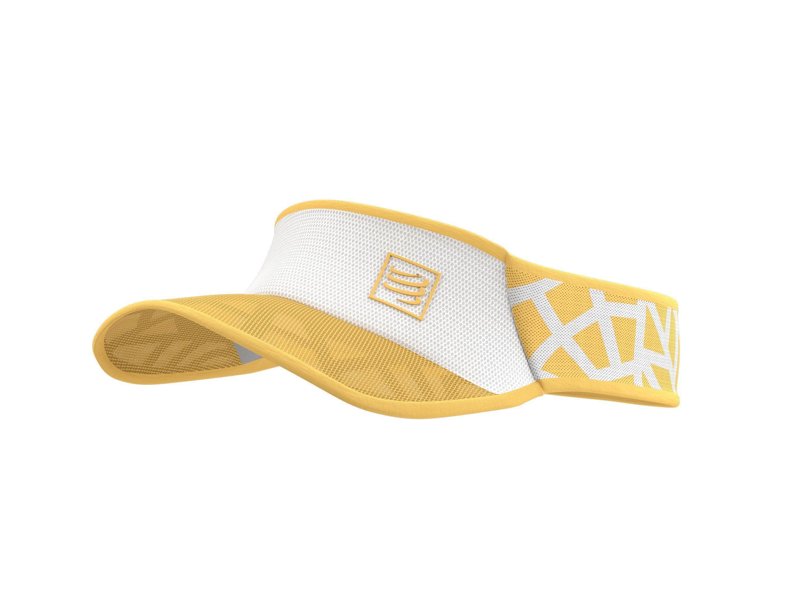 Spiderweb Ultralight Visor - White / Honey Gold