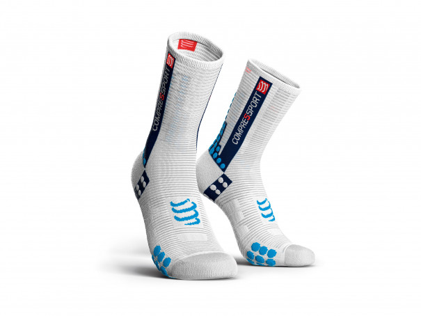 Pro racing socks v3.0 Bike white/blue