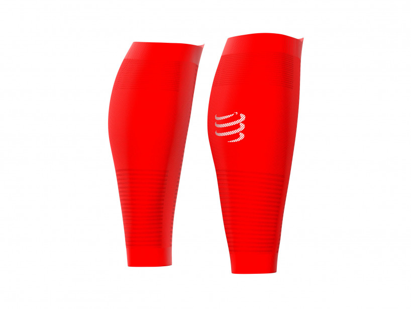 R2 Oxygen calf sleeves red