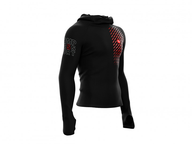 3D Thermo UltraLight Racing Hoodie black