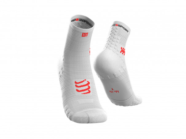 Pro Racing Socks v3.0 Run High WHITE
