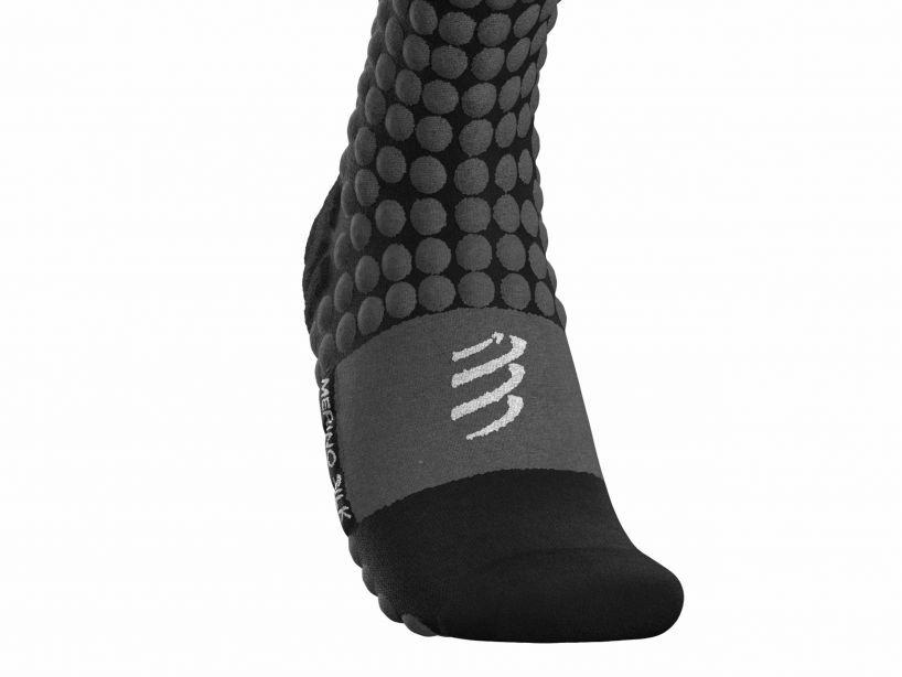 Alpine Ski Racing Full Socks BLACK/RED