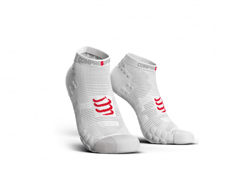 Calcetines deportivos pro v3.0 Run Low blancos